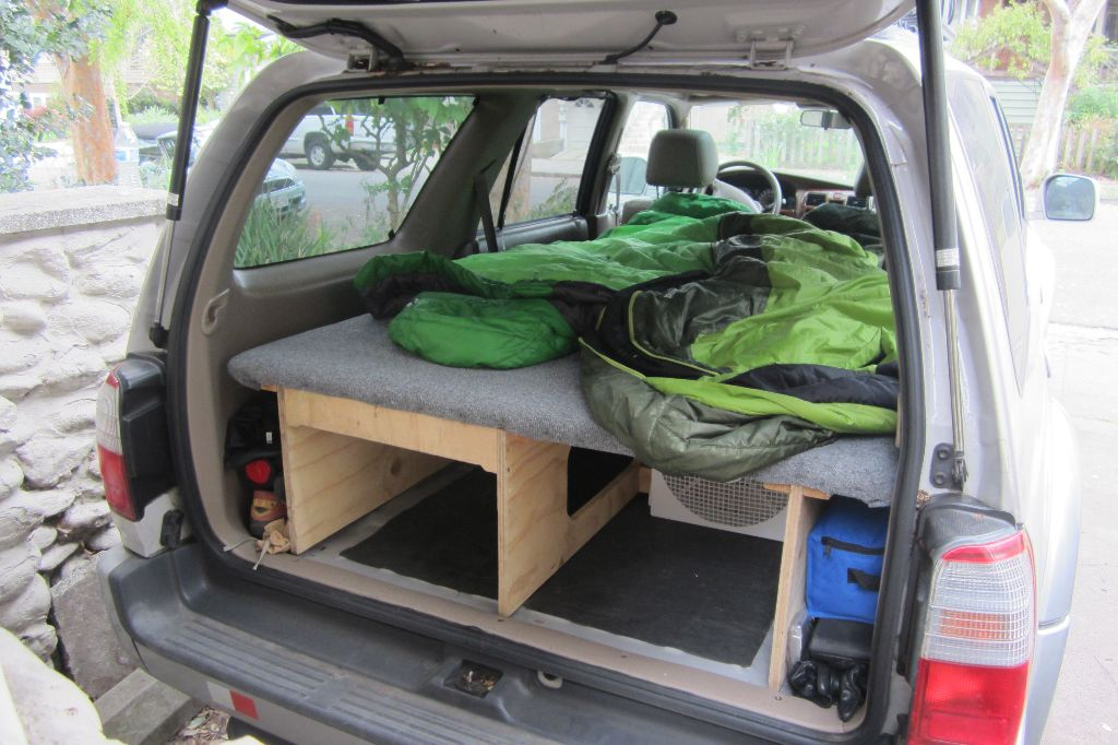 Toyota 4Runner Sleeping Platform