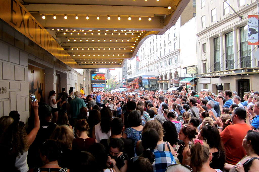 Hamilton Broadway Show Lottery Draw