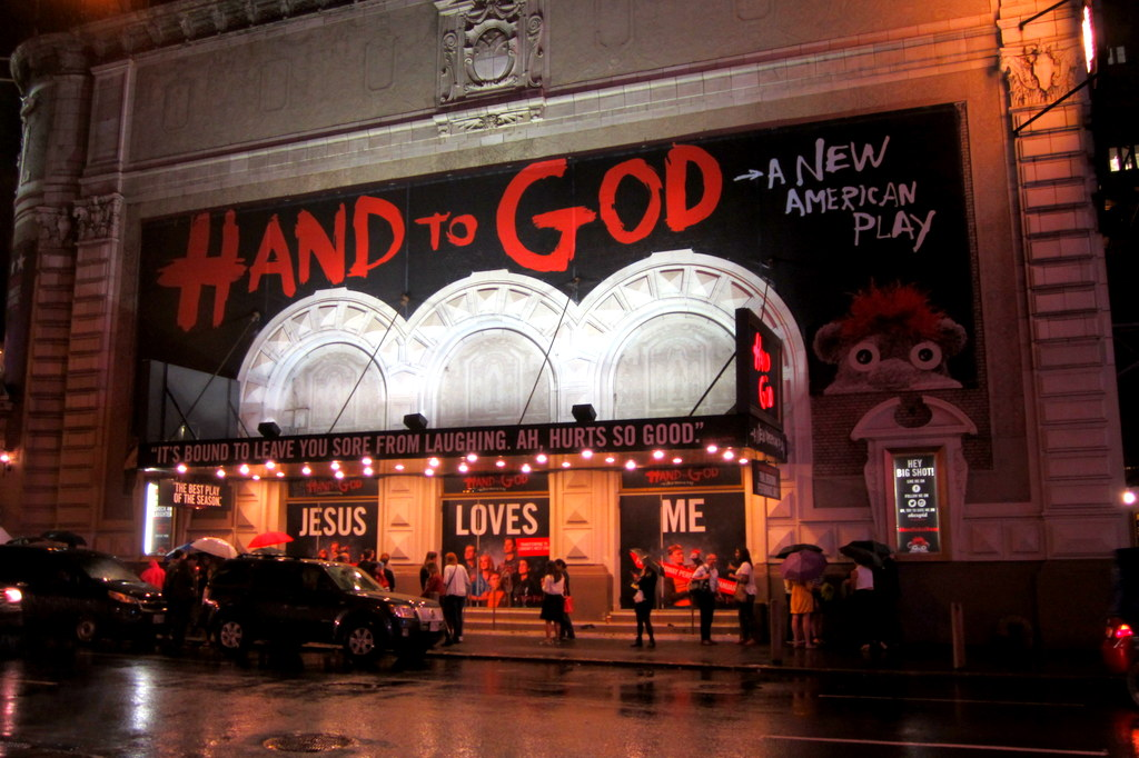 Hand to God Broadway Show