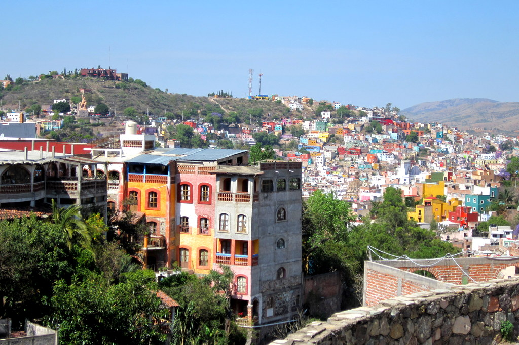 View of beautiful Guanajuato, Mexico