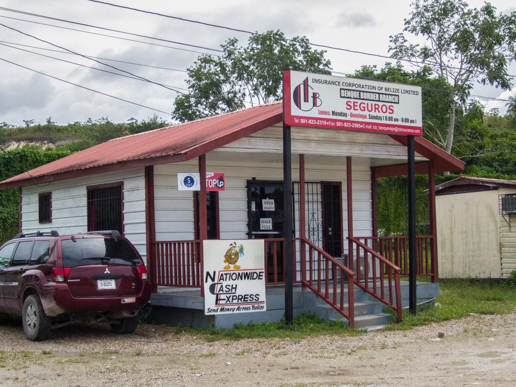 Belize Border Crossing