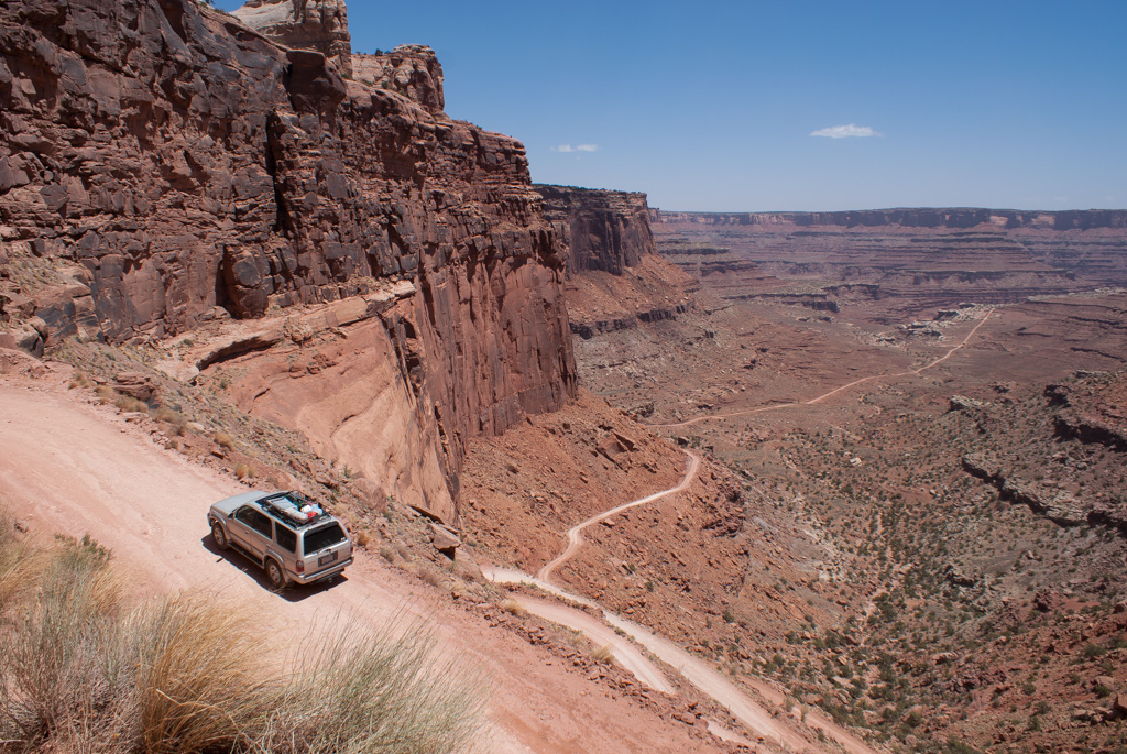 Shafer Trail in Canyonlands