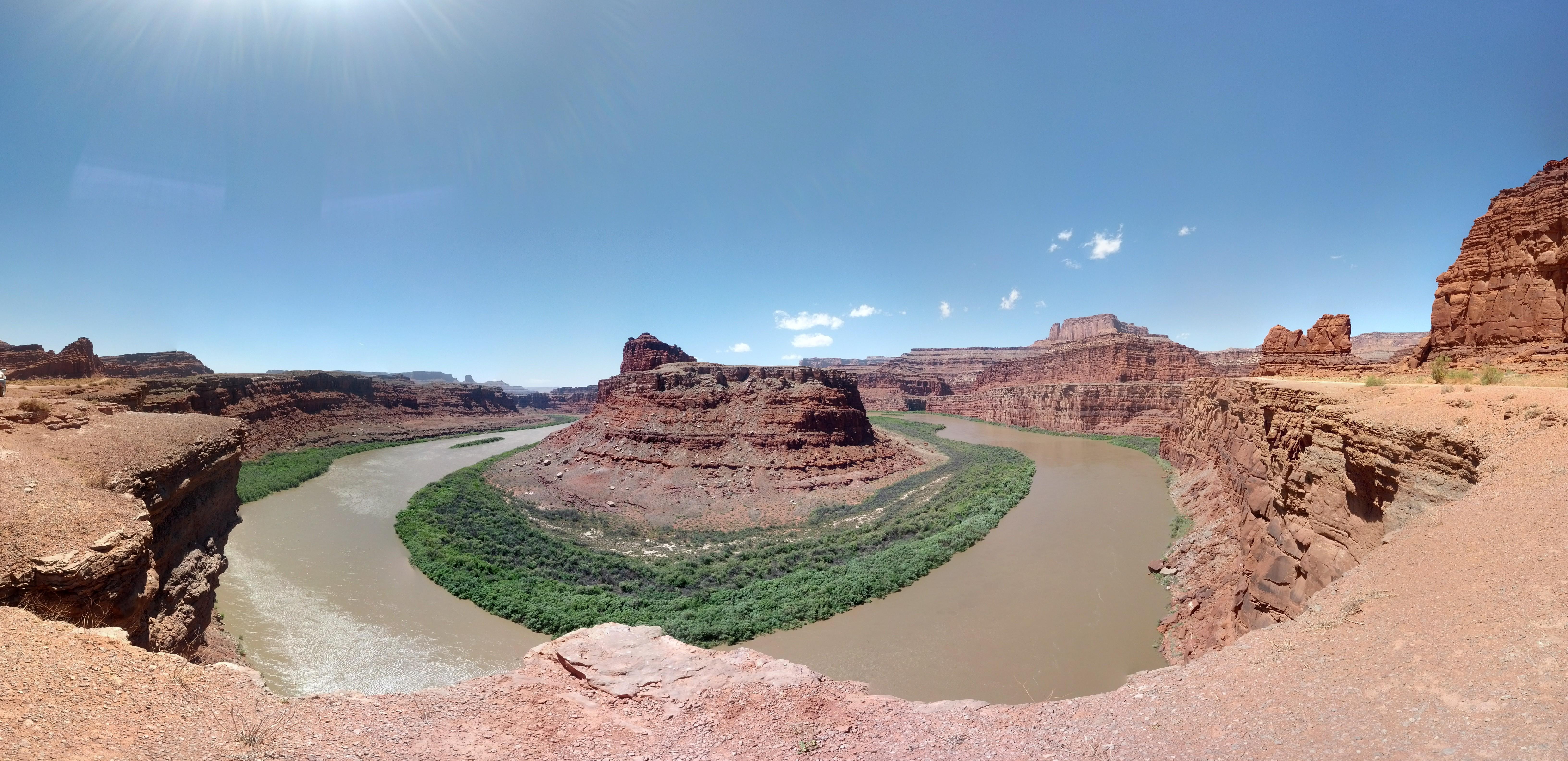Gooneck Colorado River Shafer Trail